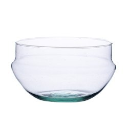 Glass bowl W-527 H:10cm D:18,5cm