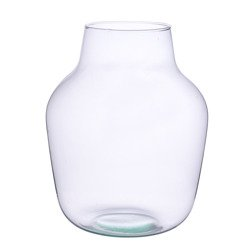 Glass jar vase W-456A4 H:29cm D:23cm
