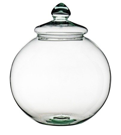 Glass ball D: 28cm + Glass lid
