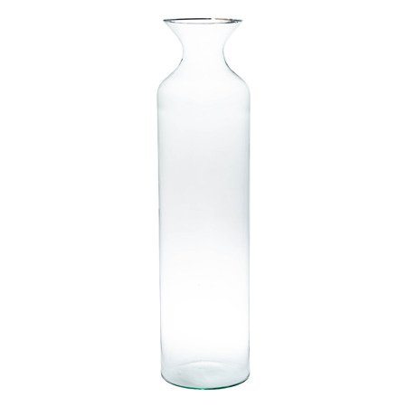 Glass bottle vase W-356B H:70cm D:18cm