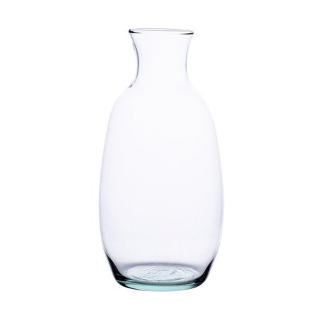 Glass bottle vase W-360B H:17.5cm