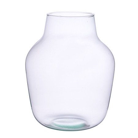Glass jar vase W-456C H:37cm D:26cm