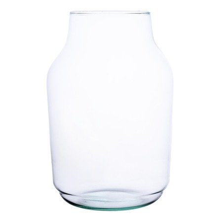 Glass jar vase W-474C H:25cm D:17cm