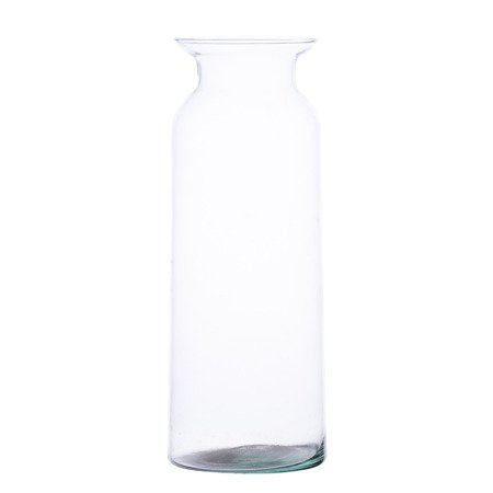 Glass jar vase W-484A H:24cm D:9,5cm
