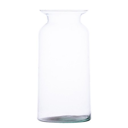 Glass jar vase W-484B H:18cm D:9,5cm