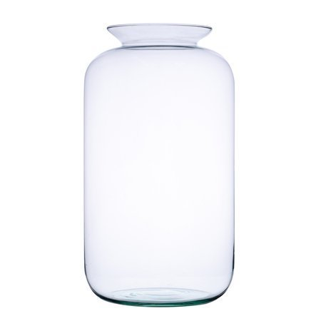 Glass jar vase W-524A H:41cm D:23cm