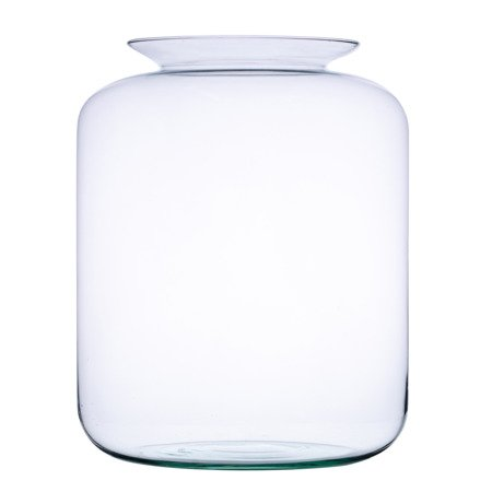 Glass jar vase W-524F H:45cm D:35cm