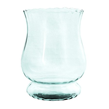 Glass vase  W-374 optic H:19cm D:14cm